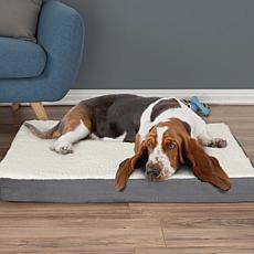 """PETMAKER Orthopedic Sherpa Top Pet Bed - 36"""" x 27"""""""