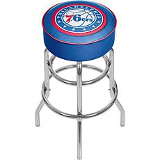 Philadelphia 76ers NBA Padded Swivel Bar Stool