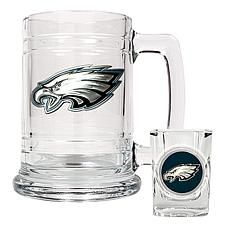 Philadelphia Eagles Boilermaker Set