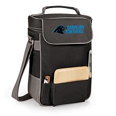 Picnic Time Duet Wine and Cheese Tote-Carolina Panthers