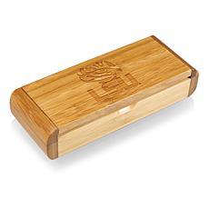 Picnic Time Élan-Bamboo Corkscrew - Louisiana State Un.