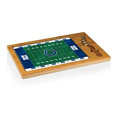 Picnic Time Glass Top Cutting Board-Indianapolis Colts
