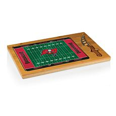 Picnic Time Glass Top Cutting Board - TB. Buccaneers
