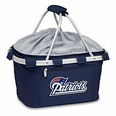 Picnic Time Metro Basket - New England Patriots