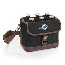 Picnic Time Officially Licensed NFL Beer Caddy - Miami Dolphins