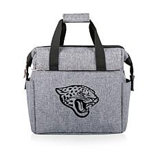 Picnic Time Officially Licensed NFL On The Go Lunch Cooler - Jaguars