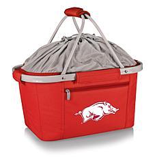 Picnic Time Portable Metro Basket - Un. of Arkansas