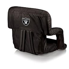 Picnic Time Ventura Folding Chair - Oakland Raiders