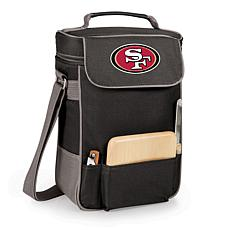 Picnic Time Wine and Cheese Tote-San Francisco 49ers