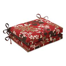 Pillow Perfect 2 Reversible Seat Cushions