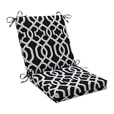 Pillow Perfect Outdoor Geo Squared Corners Chair Cushio