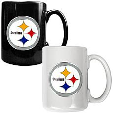 Pittsburgh Steelers 2pc Coffee Mug Set