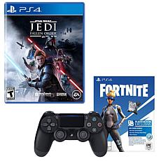 PlayStation 4 Dual Shock Controller with Fortnite and Star Wars