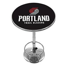 Portland Trail Blazers NBA Chrome Pub Table