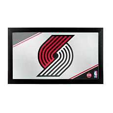 Portland Trail Blazers NBA Framed Logo Mirror
