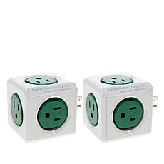 PowerCube Original Modular 5-Socket System 2-pack
