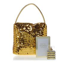 PRAI Scent of a Woman Eau de Parfum with Golden Tote Bag