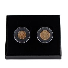 Pre-Civil War Large Cent and 2-Cent Set