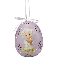 Precious Moments 202402 Egg With Lamb Ornament