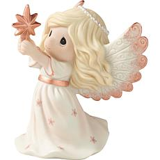 Precious Moments 9th Annual Angel Bisque Porcelain Figurine