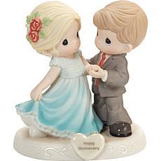 Precious Moments Couple Dressed For Anniversary Celebration Figurine