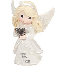 "Precious Moments ""Forever in My Heart"" Angel Figurine - 182012"
