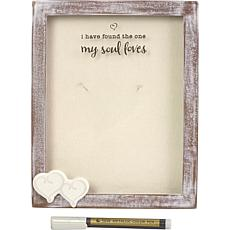 Precious Moments I Have Found The One My Soul Loves Shadow Box Frame