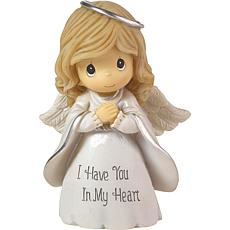 """Precious Moments """"I Have You in My Heart"""" Angel Figurine"""