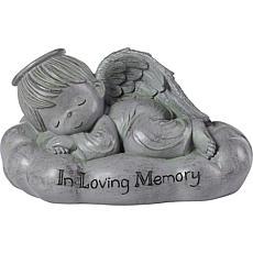 "Precious Moments ""In Loving Memory"" Sleeping Angel Resin Garden Stone"