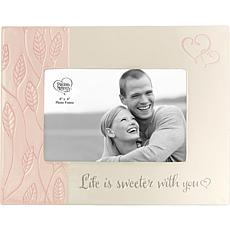 Precious Moments Life Is Sweeter With You Couple Photo Frame