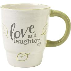 Precious Moments Love And Laughter Ceramic Mug