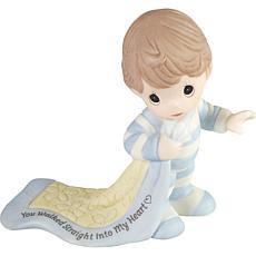 PreciousMoments Walked Into My Heart Baby Walking Porcelain Figurine