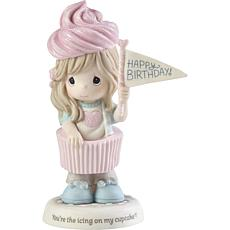 PreciousMoments You're The Icing OnMy Cupcake Girl W/IceCream Figurine