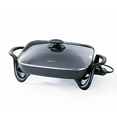 "Presto 16"" Electric Skillet with Glass Cover"