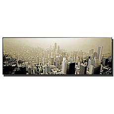 "Preston ""Chicago Skyline"" Canvas Art - 12"" x 32"""
