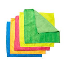 Professor Amos Dual-Action Microfiber 5pc Scrubby Set