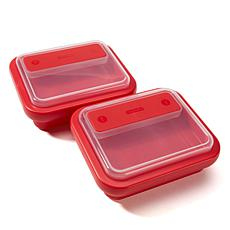 Progressive On-the-Go Square Sandwich Lunch Box 2-pack