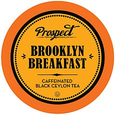 Prospect Tea Black Ceylon Tea Pods for Keurig Brooklyn Breakfast 40-pk