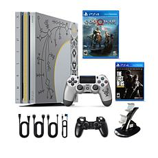 PS4 Pro 1TB Gods of War Limited Edition Console w/2 Games+Accessories