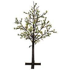 Puleo International 6.5' Tree with 450 Warm White LED Lights