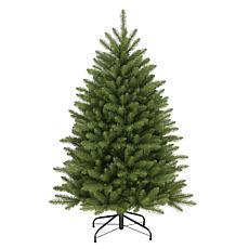 Puleo Intl. 4.5' Fraser Fir Artificial Christmas Tree w/ Stand, Green