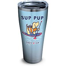Puppie Love Sup Pup 30 oz Stainless Steel Tumbler with lid