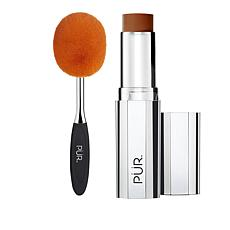 PUR 4-in-1 Golden Deep Foundation Stick with Brush Set