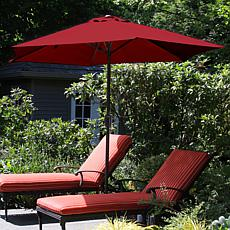 Pure Garden 9' Aluminum Patio Umbrella with Auto-Crank