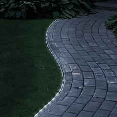 Pure Garden Solar-Powered LED Rope Lights - 32'