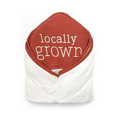 Rabbit + Bear Organic Cotton Boys Hooded Towel