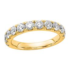 Radiant Fire 14K Gold 1.50ctw Lab-Grown Diamond Round Wedding  Ring
