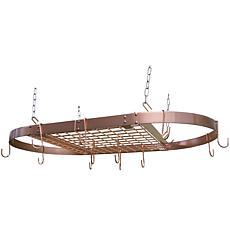 Range Kleen® CW6015 Copper Oval Pot Rack