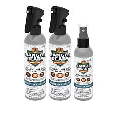 Ranger Ready Picaridin 20% Insect Repellent Set - 3-pack
