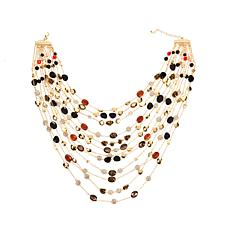 Rara Avis by Iris Apfel 12-Strand Station Necklace